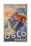 Skiing in Oslo  Norway