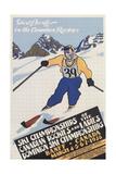 Skiing at Banff  Alberta