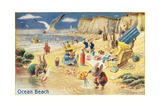 Rabbit Picnic  Ocean Beach