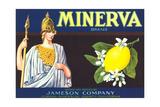 Minerva Lemon Label