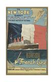 Ocean Liner Advertisement