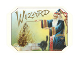 Wizard Conjuring Tobacco Leaves