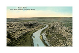 Pecos River from High Bridge