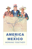 America and Mexico Work Together
