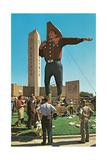 Big Cowboy Statue