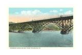 Strawberry Bridge and Boathouse  Philadelphia