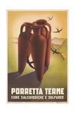 Travel Poster for Porretta Terme