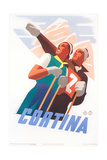 Travel Poster for Cortina