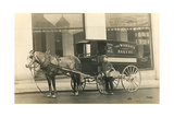 Horse-Drawn Bakery Wagon