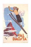 Ski Jumper  Val D'Aosta