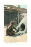 Bread Making  Tesuque Pueblo