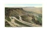 La Bajada Hill  Santa Fe