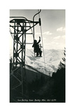 Ski Lift  Sun Valley
