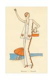 Vintage Haute Couture Beach Wear