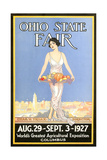 Ohio State Fair Poster  Columbus