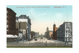 Vintage Pennsylvania Avenue  Capitol