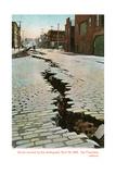 Earthquake Cracked Street