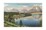 Teton Range  Jackson Lake