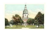 State Capitol Building  Annapolis
