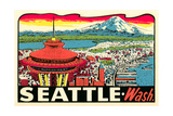 Decal of Seattle
