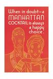 Manhattan Cocktail  Happy Choice