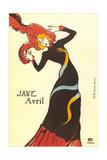 Jane Avril Poster