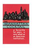Manhattan Cocktail  Skyline