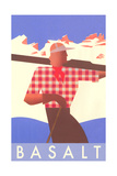 Ski Basalt Poster
