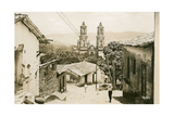 View of Taxco Cathedral