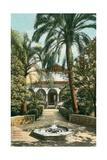 Alcazar Gardens  Seville  Spain