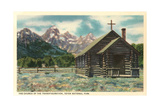 Church of the Transfiguration  Teton National Park