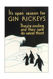 Open Season for Gin Rickeys