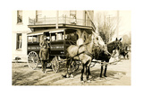 Horse-Drawn Delivery Van