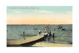 Vintage Oshkosh Pier