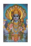 Vishnu and Nagas