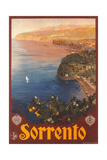Travel Poster for Sorrento