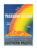 Travel Poster for Treasure Island Exposition
