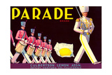 Parade Lemon Label