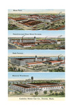 Cadillac Factories  Detroit