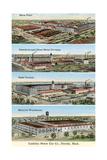 Cadillac Factories  Detroit