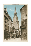 Street of the Clock Tower  Dinan  Brittany