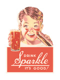 Ad for Sparkle Soft Drink