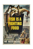 Fish Is a Fighting Food