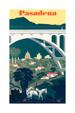 Pasadena Travel Poster