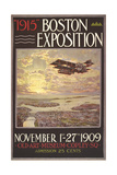 1915 Boston Exposition Poster