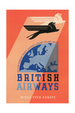 British Airways Travel Poster