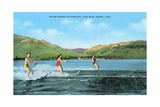 Water Skiers  Pineview Lake