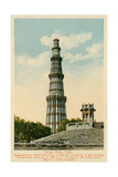 Qutub Minar Tower  Delhi  India