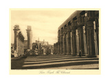 Colonnade at Luxor Temple