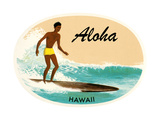 Aloha  Native Surfer